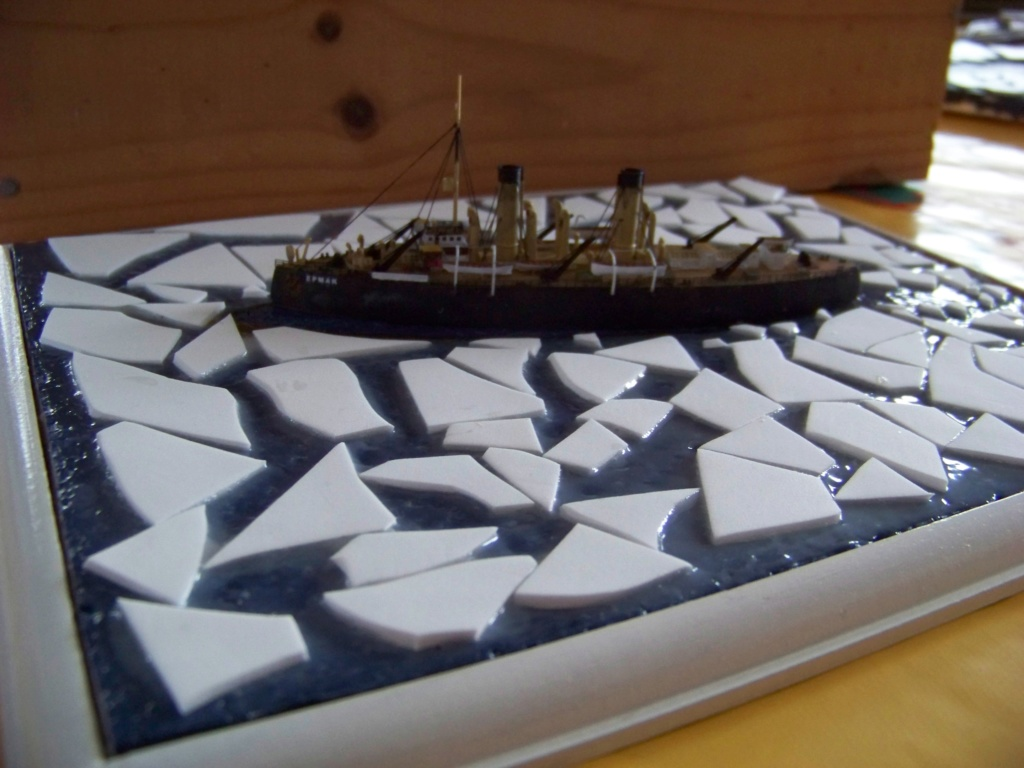 Brise-glace Yermak 1/700 Combrig diorama. 101_0053