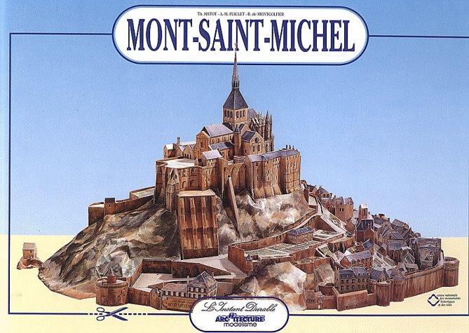 LE MONT ST MICHEL  Ech : 1/500 61emmd10