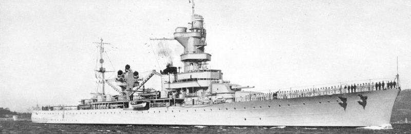 Croiseur D'Entrecasteaux 1/200 GPM et scratch Terminé Algeri10