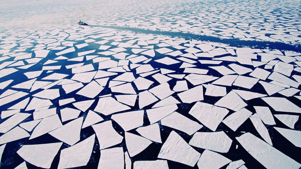 Brise-glace Yermak 1/700 Combrig diorama. Antarc10