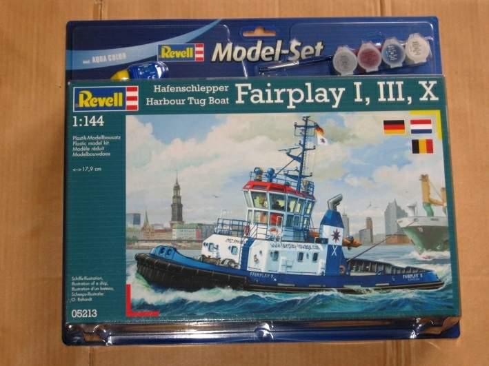 NorthSea Fishing Trawler Revell_Premier projet Img_8710