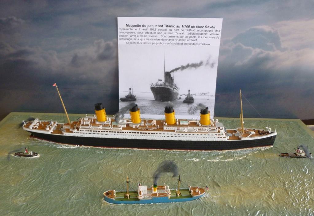 Dio : Titanic en essais avec remorqueurs & caboteur (1/700°) par PLEF P1010112