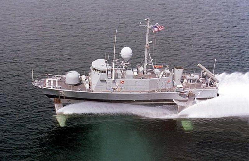 USS Pegasus hydroptère Hobby Boss 1/200. Phm-3-10
