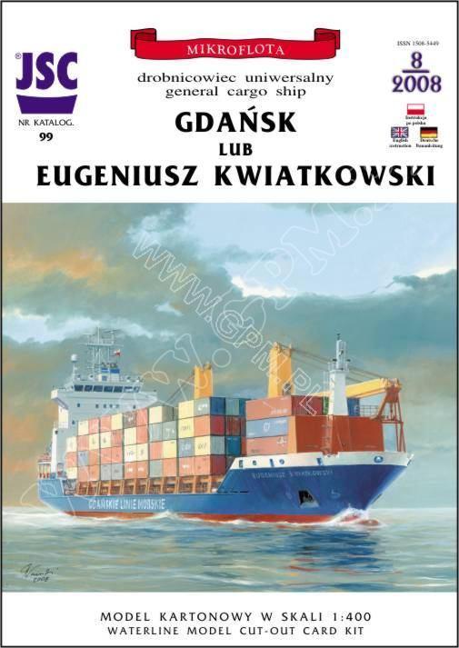 Dock flottant Ostrow II maquette en papier JSC 1/400. - Page 2 Produk11