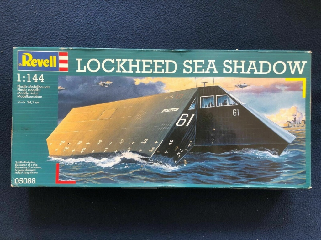 Sea Shadow Catamaran US d'expérimentation de la furtivité 1/144 Revell. Sea_sh10