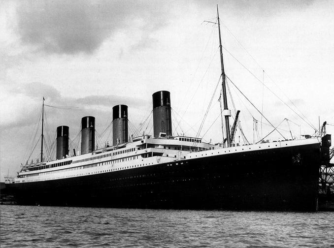 Titanic 1/400 Revell The-ti10