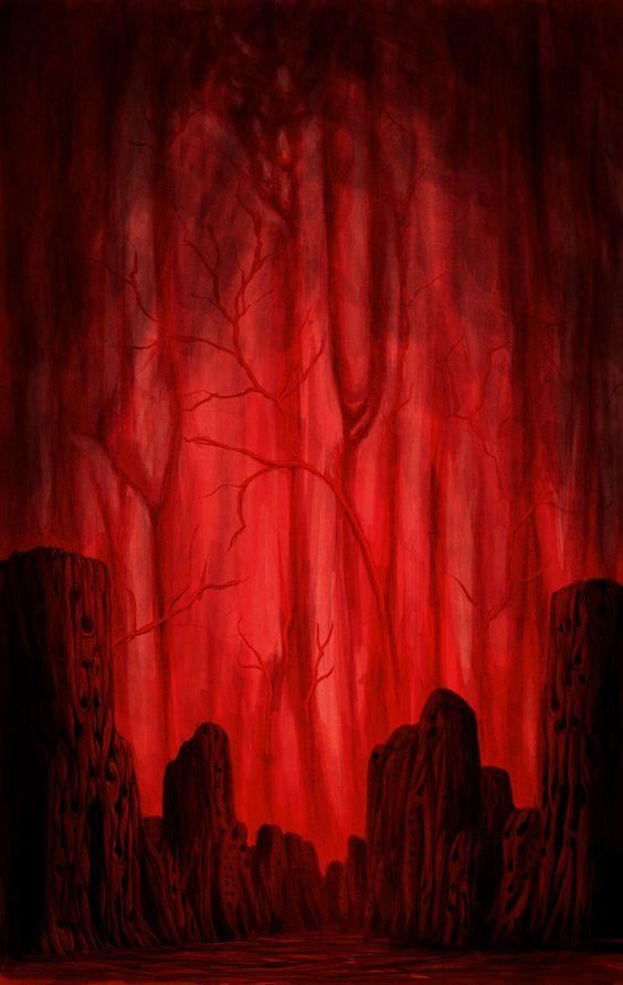Le Jardin aux feuilles rouges 71406610