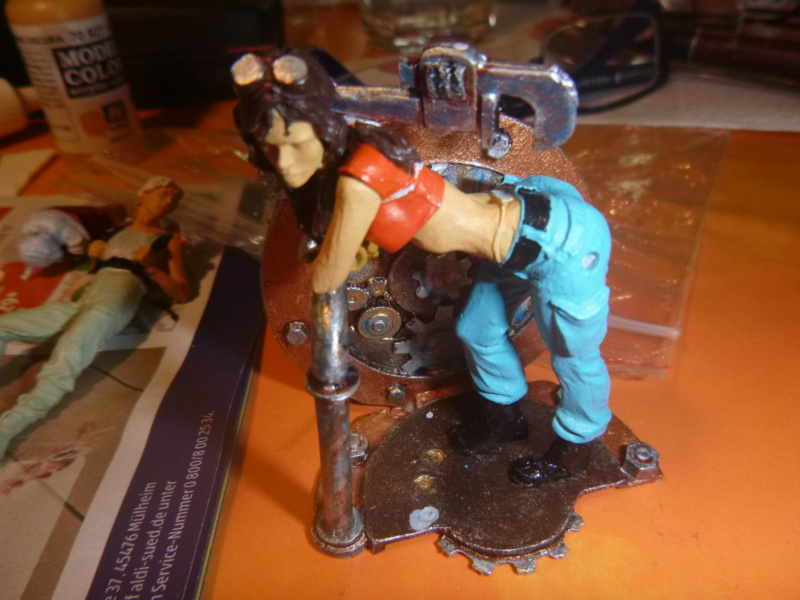 Scale 75 Fix it Sam  Mechanikerin 75mm Steam Punk P1070512
