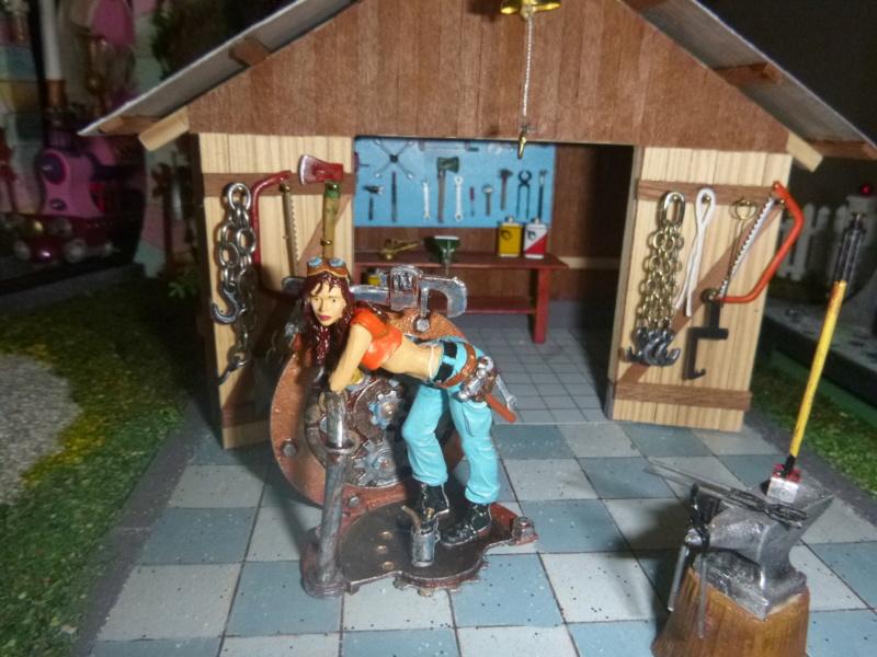 Nellie Rowland Emett Smallbrook Studio Anlage mit 8Tunnels und Berg, Luftschiff  - Seite 4 P1070553