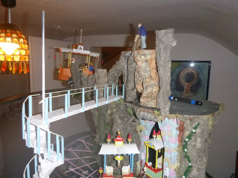 Nellie Rowland Emett Smallbrook Studio Anlage mit 8Tunnels und Berg, Luftschiff  - Seite 4 P1070815