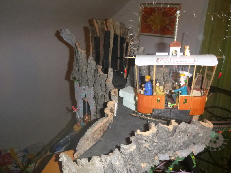 Nellie Rowland Emett Smallbrook Studio Anlage mit 8Tunnels und Berg, Luftschiff  - Seite 4 P1070823