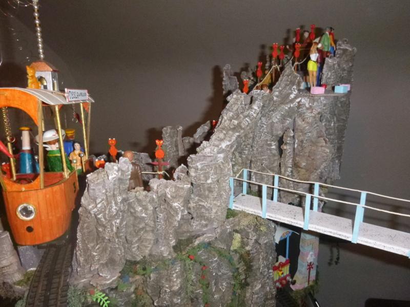 Nellie Rowland Emett Smallbrook Studio Anlage mit 8Tunnels und Berg, Luftschiff  - Seite 5 P1070913