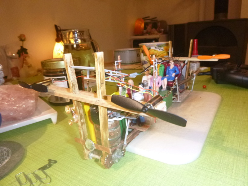 Nellie Rowland Emett Smallbrook Studio Anlage mit 8Tunnels und Berg, Luftschiff  - Seite 5 P1070947