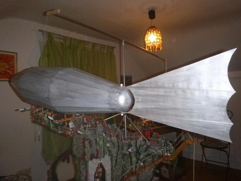 Nellie Rowland Emett Smallbrook Studio Anlage mit 8Tunnels und Berg, Luftschiff  - Seite 5 P1070978
