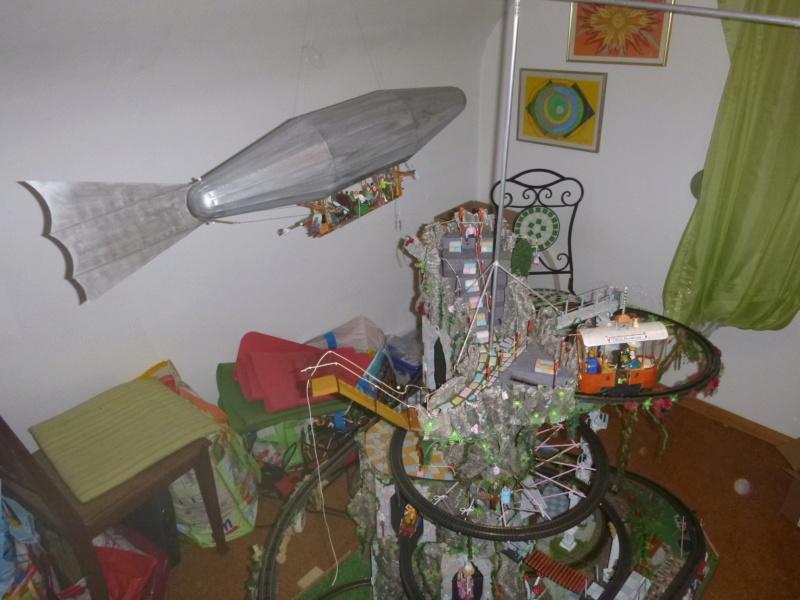 Nellie Rowland Emett Smallbrook Studio Anlage mit 8Tunnels und Berg, Luftschiff  - Seite 5 P1070980