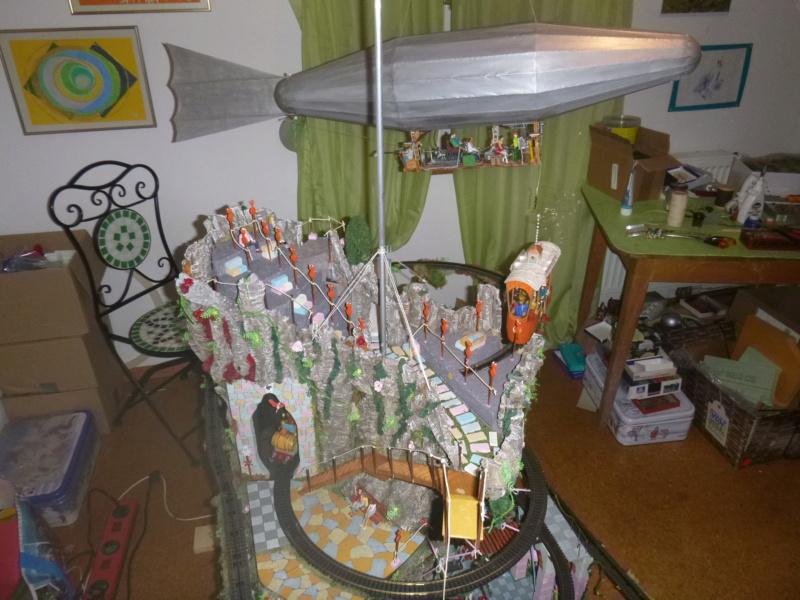 Nellie Rowland Emett Smallbrook Studio Anlage mit 8Tunnels und Berg, Luftschiff  - Seite 5 P1070981