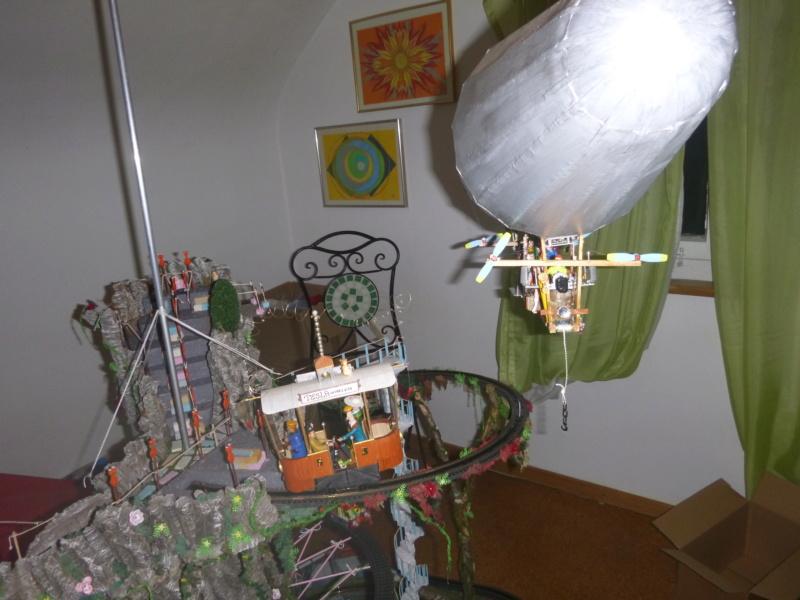 Nellie Rowland Emett Smallbrook Studio Anlage mit 8Tunnels und Berg, Luftschiff  - Seite 5 P1070982