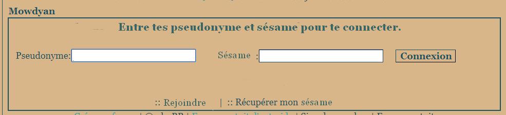 identifiant - Modifier fenêtre de connexion. Champ_12