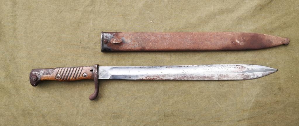 Allemands ww1 et ww2, glaive autrichien M1853/89 et pique-couille fin XIXème Img_1762