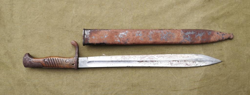 Allemands ww1 et ww2, glaive autrichien M1853/89 et pique-couille fin XIXème Img_1763
