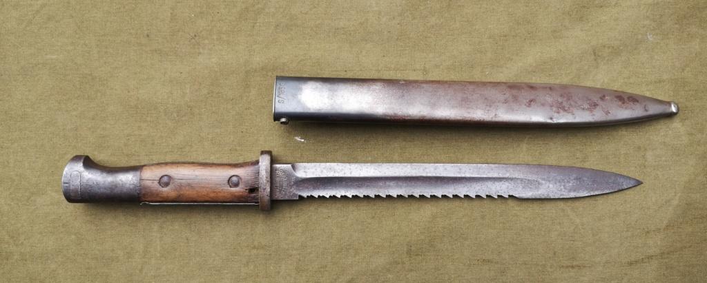 Allemands ww1 et ww2, glaive autrichien M1853/89 et pique-couille fin XIXème Img_1766