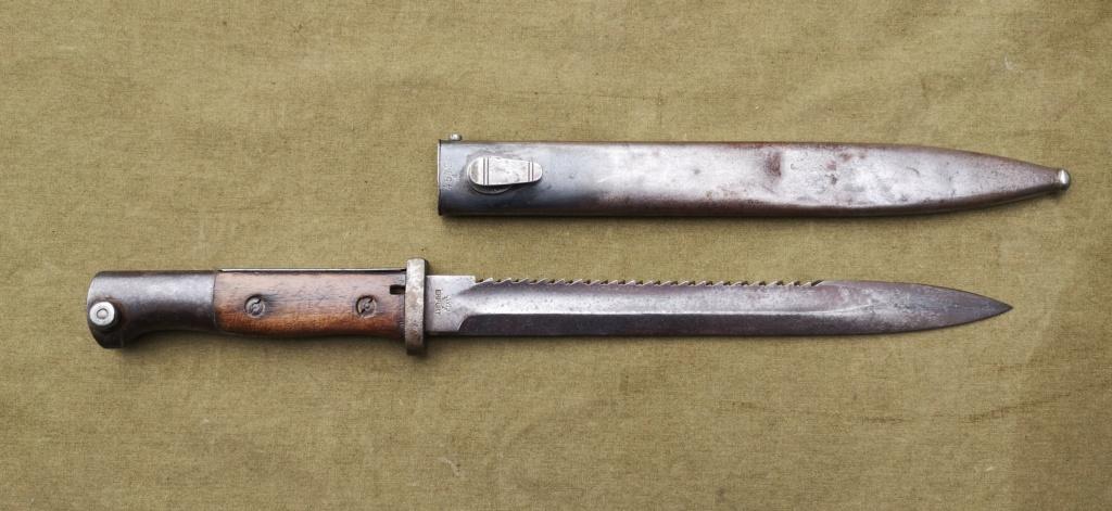 Allemands ww1 et ww2, glaive autrichien M1853/89 et pique-couille fin XIXème Img_1767