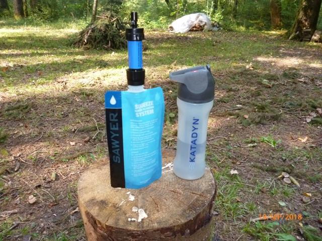 RETEX de 2 systèmes de filtration nomades: La Sawyer « Care Plus » et la Katadyn « My Bottle » P1060515