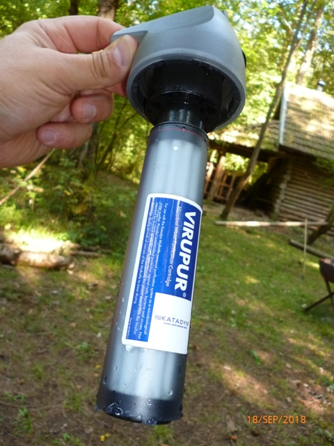 RETEX de 2 systèmes de filtration nomades: La Sawyer « Care Plus » et la Katadyn « My Bottle » P1060518