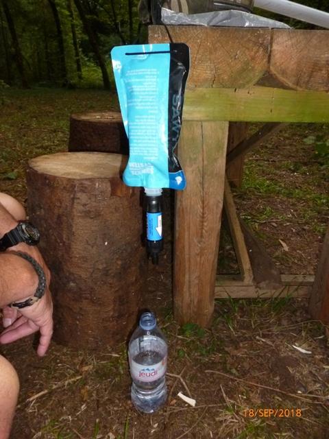 RETEX de 2 systèmes de filtration nomades: La Sawyer « Care Plus » et la Katadyn « My Bottle » P1060521