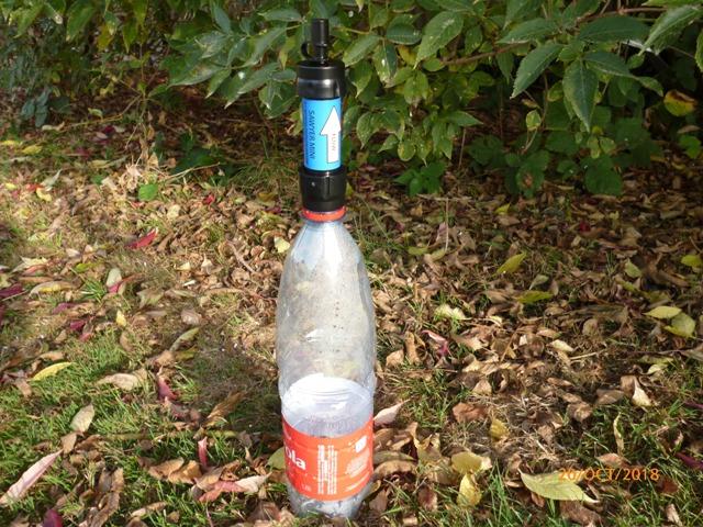 RETEX de 2 systèmes de filtration nomades: La Sawyer « Care Plus » et la Katadyn « My Bottle » P1060625