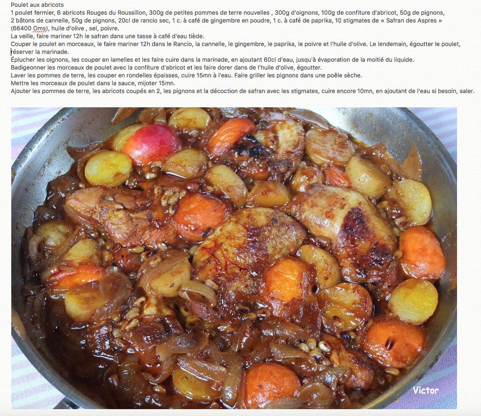 Poulet aux Abricots Captur10