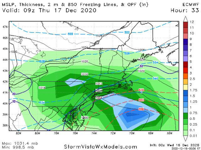 12/16-12/17 Godzilla: Final Snow Map & Obsevations Euro_210