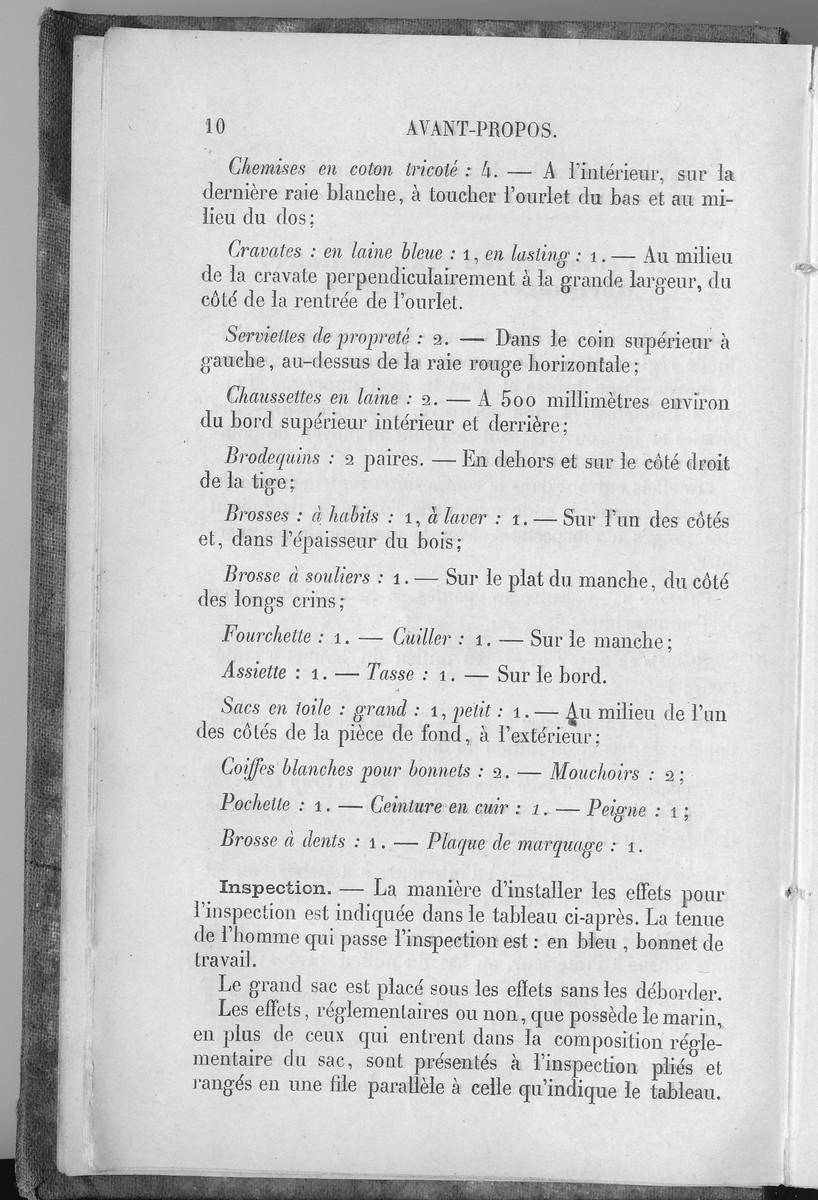[LES TRADITIONS DANS LA MARINE] LES INSPECTIONS DE SACS - Page 4 Acb_2010