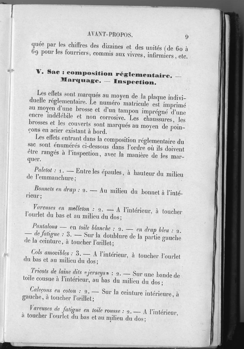 [LES TRADITIONS DANS LA MARINE] LES INSPECTIONS DE SACS - Page 4 Acb_2510