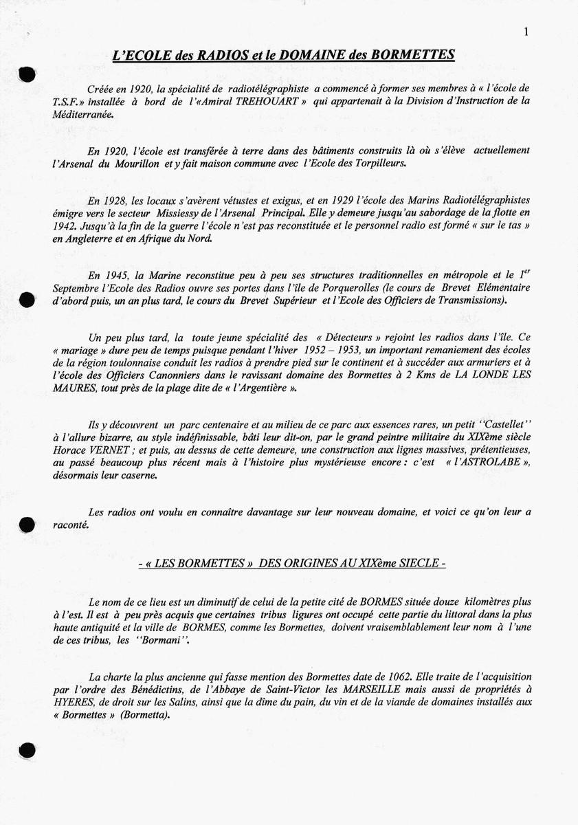 [Les écoles de spécialités] ÉCOLE DES RADIOS LES BORMETTES - Tome 3 - Page 26 Acb_m227
