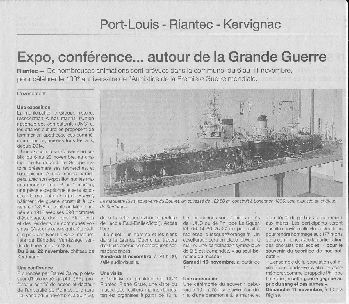 [HISTOIRES ET HISTOIRE] [SUJET UNIQUE] LE CENTENAIRE DE LA GRANDE GUERRE - Page 17 Bouvet10