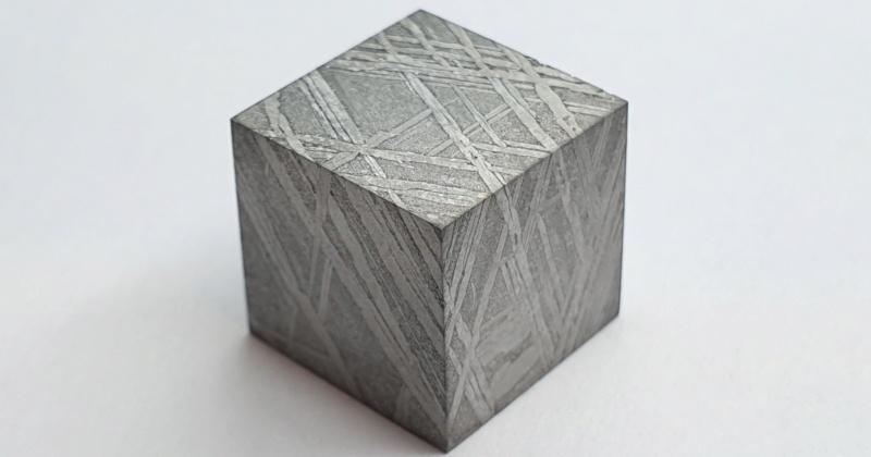 Scale cube 1cm en météorite Scale_13
