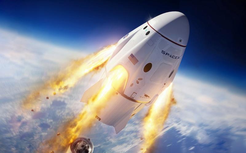 Fusée Space X premier vol habité décollage ce soir. Space-10