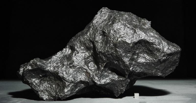 Scale cube 1cm en météorite Sta02611