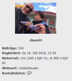 CX will nicht anspringen Claus410