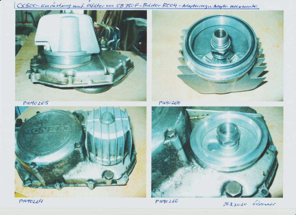 Schwingenverzug (Coronakoller) Cx500-10