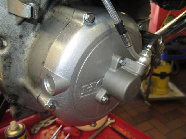 """CX 500 """"HFC""""_hydraulic forced clutch K640_271"""