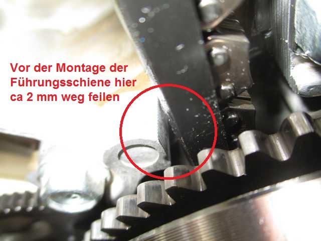 Steuerkette / automatischer Kettenspanner CX650 (RC12) K640_651