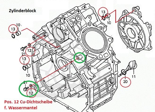 Motor verliert Öl Zylind10