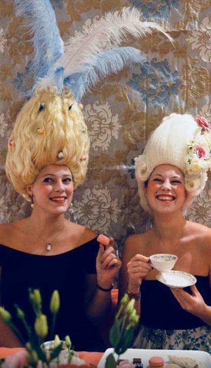 Goûter dans le monde de Marie-Antoinette Hameau10