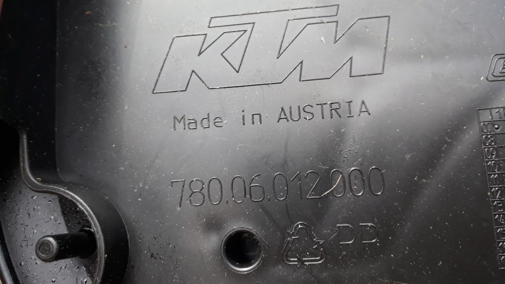 Vide garage - Divers pièces KTM 20180713