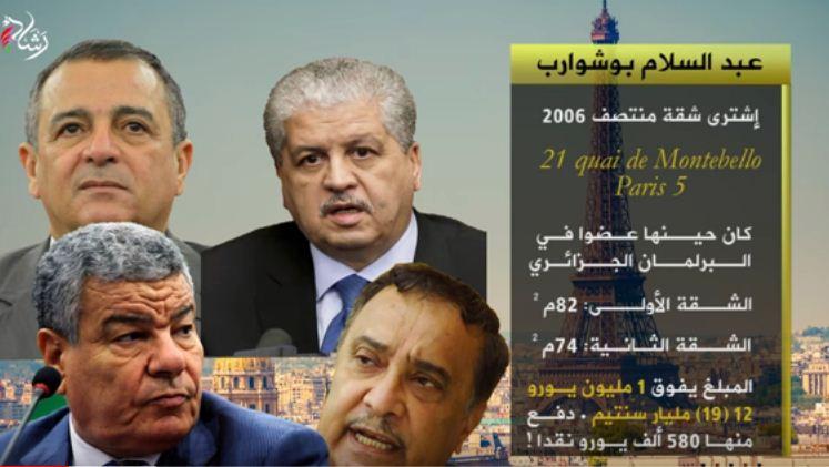 President malade et generaux assoiffés l'Algerie plonge dans la corruption Abdesl10