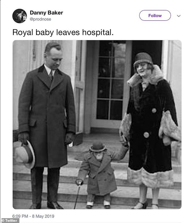 TV and Radio presenter Danny Baker fired for racist Royal baby tweet. 13280010