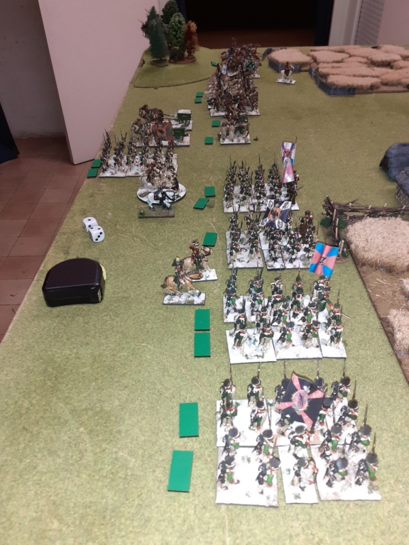Russes contre Austro-hongrois  ,partie d'initiation ......Stonewalljackson  vs Cadiran le limité  20200114