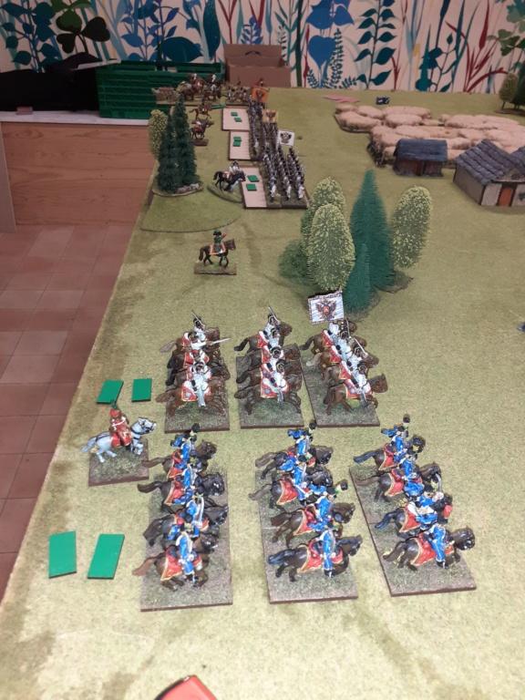 Russes contre Austro-hongrois  ,partie d'initiation ......Stonewalljackson  vs Cadiran le limité  20200117